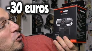 Webcam BC Master Full HD -30 euros - Unboxing + Test