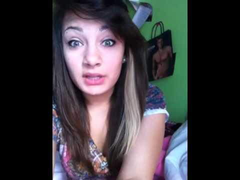 Bleaching My Hair Streak Youtube