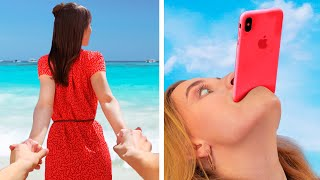 16 Fun and Creative Photo Ideas for Instagram / How Girls Get Ready for Photo