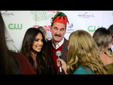 Crazy Ex Girlfriend Stars Pete Gardner and Gabrielle Ruiz  at 84th Annual Christmas Parade