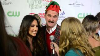 Crazy Ex Girlfriend Stars Pete Gardner and Gabrielle Ruiz Interview at 84th Annual Christmas Parade