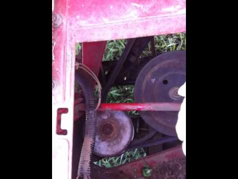 Mtd Lawn Mower Belt Diagram Mitsubishi Pajero Electrical Wiring Drive Problem (mtd Hydrostatic Mower) - Youtube