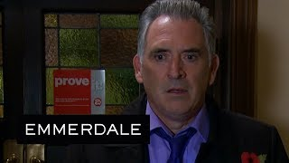 Emmerdale - Bob Is Horrified When a Male Strip Group Cancels an Appearance