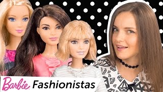 Barbie Fashionistas 2016 (Барби с новым типом тела, Tall 28, Petite 23, Curvy 26) Обзор \ Review