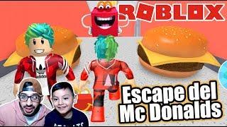 Escape del McDonalds Obby | Atrapados en la Cajita Feliz | Juegos Karim Juega