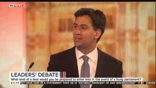 Ed Miliband says he has