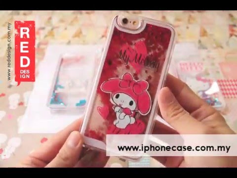 Gourmandise Glitter Flow Hello Kitty Case for iPhone 6S