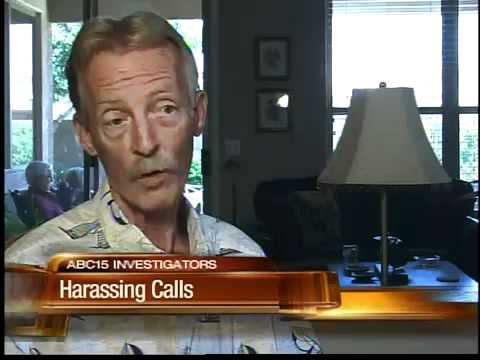 how to report harassing phone calls