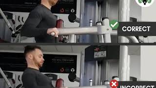 Seated chest supported row do's & don'ts