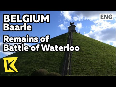 【K】Belgium Travel-Baarle[벨기에 여행-바를러]워털루 전쟁 유적지/Baarle/Remains of Battle of Waterloo/War Remains