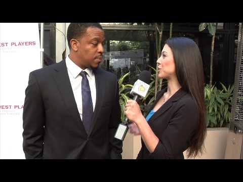 Russell Hornsby  EWP Visionary Awards 2014