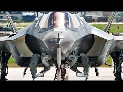 US Testing the Latest F-35's Ultra Fast Gatling Gun