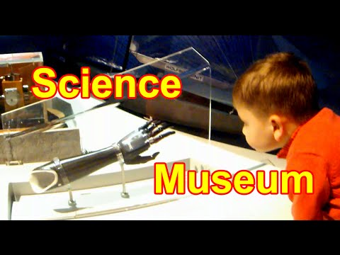 Science Museum/London/Kids Having Fun