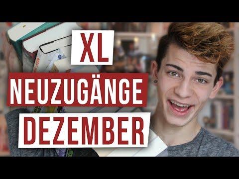 XL NEUZUGÄNGE DEZEMBER 2017 | BookTube Bücher Haul! | BookTown