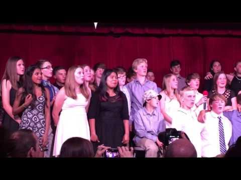 Stanley British primary school's cabaret finale