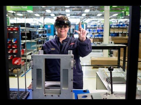 Microsoft HoloLens: Partner Spotlight with PTC & BAE
