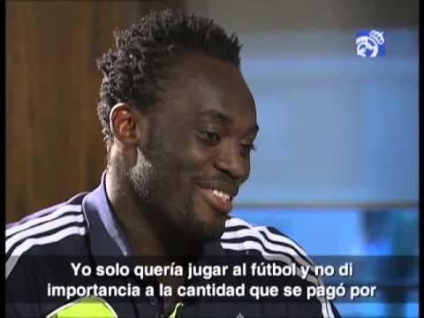 Interview with Michael Essien on Realmadrid TV