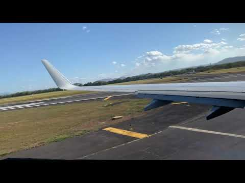 American Airlines 737-823 (N905NN) Pushback, Taxi And Take Off From Managua  Bound To Miami Airport