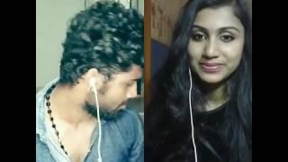 ||Nikhil Balakrishnan & Urmila Raman || Thera Chehra song ||