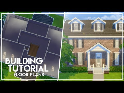 HOW TO MAKE FLOORPLANS // The Sims 4: Builder's Bible (Tutorial)