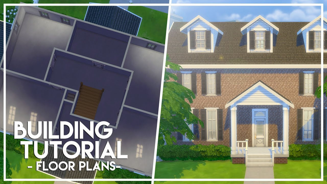 How to make floorplans the sims 4 builder 39 s bible for Sims 4 floor plans