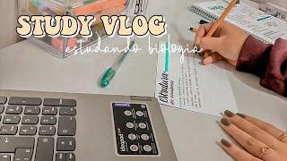 STUDY VLOG | resumo em ficha, vídeo aula e +