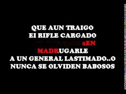 Joan Sebastian - El General DEMO SERTRIERO KARAOKE