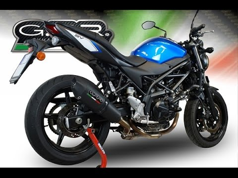 suzuki sv 650 a 2016 gpr decat pipe exhaust systems. Black Bedroom Furniture Sets. Home Design Ideas
