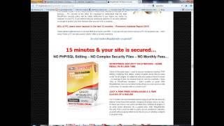 Wp Blog Defender Review - Wordpress Security & Hacker Protection Tutorials