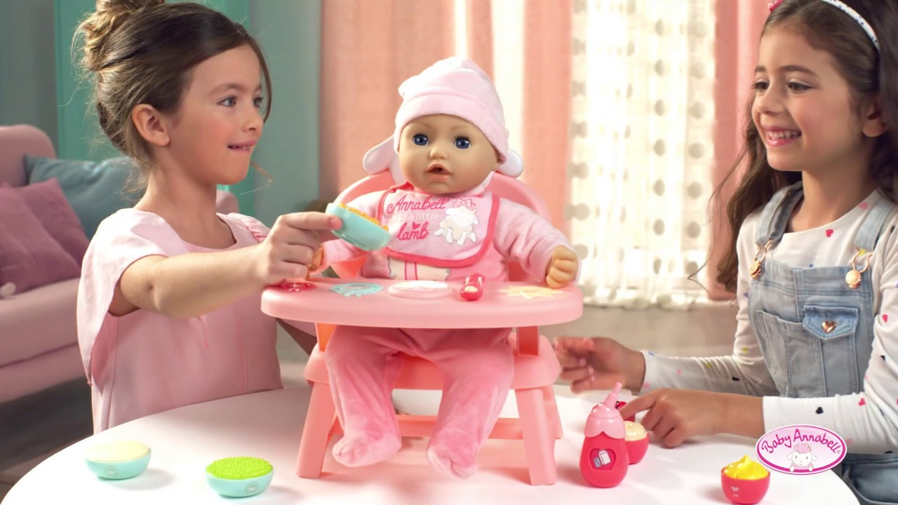 Baby Annabell Lunch Time Tisch - YouTube