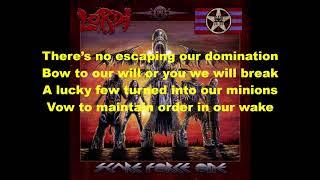 Lordi - The United Rocking Dead Lyrics
