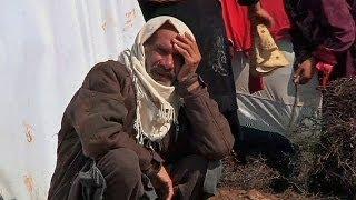 16 الف لاجىء سوري يقبعون في بؤس مخيم أطمة