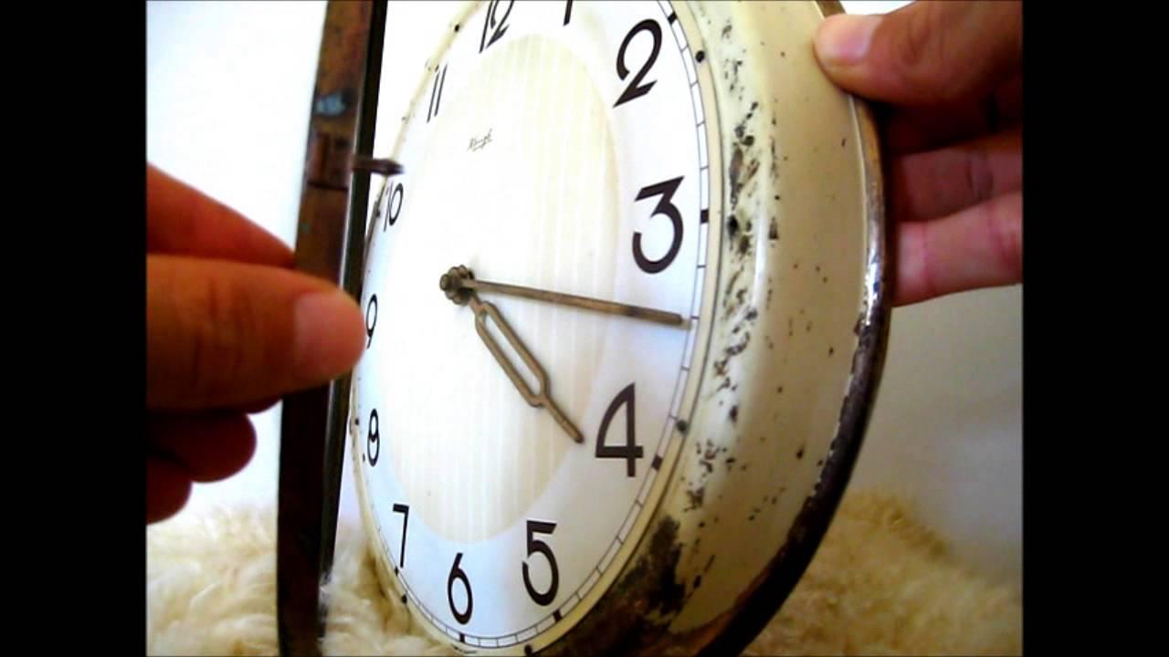 Reloj de pared vintage para decoraci n youtube - Relojes para decorar paredes ...