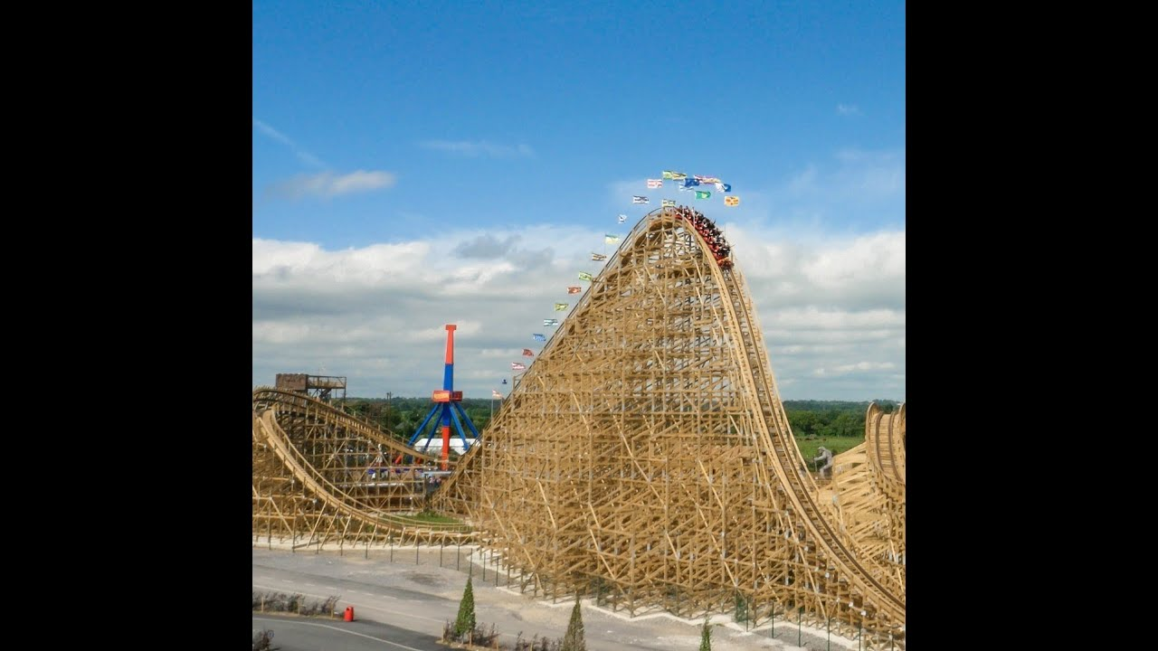 Largest Wooden Rollercoaster In Europe Tayto Park Ireland