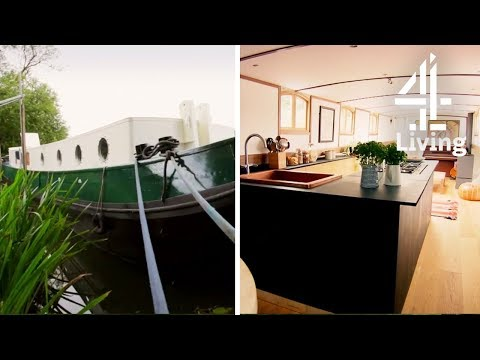 Converting a Boat into House Bigger than London Flat? | George Clark's Amazing Spaces