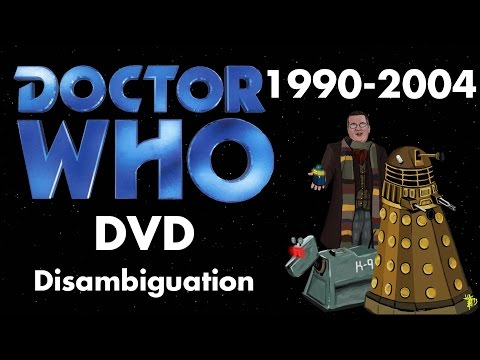 Doctor Who DVD Disambiguation - The Movie (1996) and Wilderness Years