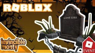 [HALLOWEEN EVENT] How to get ''Here Lies…''   Roblox: Halloween Event
