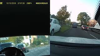 Car accident on Lillington Rd, Leamington Spa,