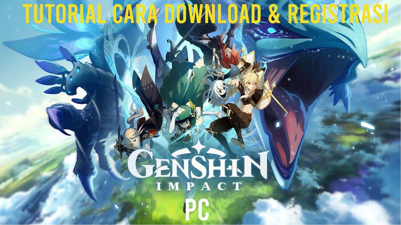 Cara Download Daftar Genshin Impact Pc Server Cn Youtube