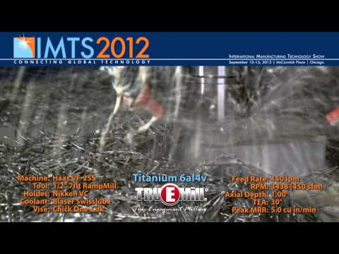 IMTS 2012 - TRUEMill Machining in Action