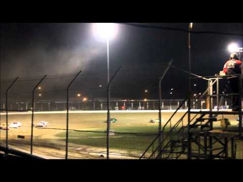 Portsmouth Raceway Park Bomber Shootout Feature 9/13/14