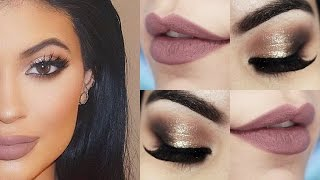Kylie Jenner Makeup Tutorial - Maquiagem Chique com batom Hermione