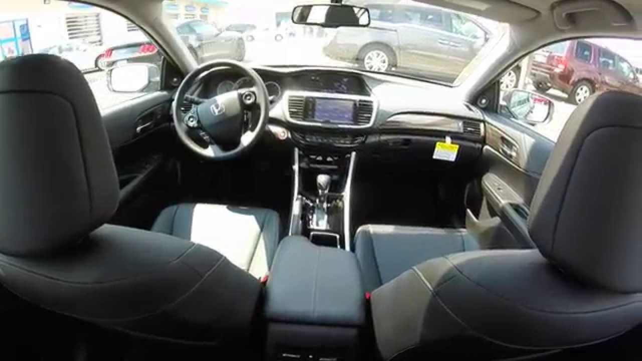 2016 honda accord ex l v6 walkaround first look hd youtube. Black Bedroom Furniture Sets. Home Design Ideas