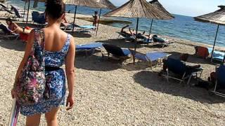 idziemy na plażę w Albanii - Saranda