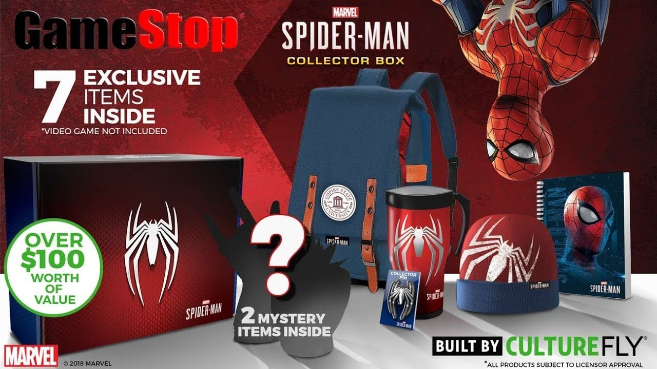 Upcoming Spider Man Collector Box Youtube