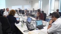 Verwaltungsstab der Stadt Karlsruhe zur Coronakrise arbeitet bestens zusammen