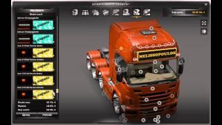 Euro Truck Simulator 2 Mega Tuning Mod V3