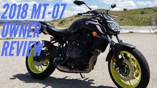 2018 Yamaha MT-07 Owner Review