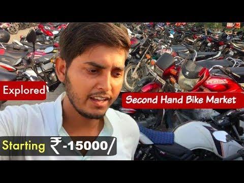 """🔥""""Exploring """"Second Hand Bike Market (Delhi Saket).Bullet , Apache, KTM Duke ,Hero,Honda"""