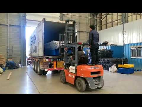 Ready for loading roof sheet forming machine for africa market